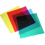 Color Correction Gels - Set of 4 12in x 12in Gels, COLORGEL12INCH