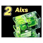 Two Axis Hot Shoe Spirit Bubble Level, DUO BUBBLE
