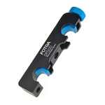 FOTGA DP500 Quick-Release Slot Slide Block Clamp f Follow Focus 15mm Rail Rod Rig