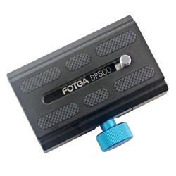 FOTGA DP500 Quick Release Plate for DSLR 15mm Rail Rod Shoulder Mount Rig System