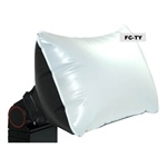 Inflatable Universal Flash Diffuser/Softbox for Canon/Nikon/Fuji/Olympus, INFLATABLE DIFFUSER