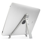 Classical Aluminium Compass Mobile Folding Stand with Pouch for iPad/Tablet PC (Silver), IPAD STAND