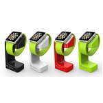 iwatch Durable Plastic Charging Holder Stand Docking Station for Smart Phone Apple Watch 38mm 42mm