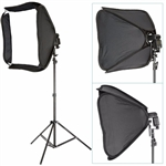 Speedlite Flash Mount Softbox Photo Video Lighting Kit, SPEEDLITE_803