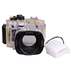 40M/130feet Underwater Waterproof Cover Case Camera Housing for Canon WP-DC48 PowerShot G15